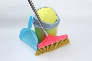 清掃用品 ほうきとちりとり