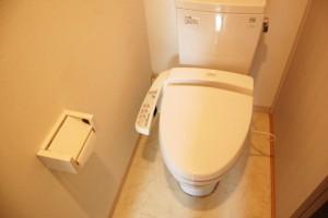 様式のトイレ