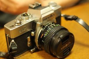 レトロなカメラ