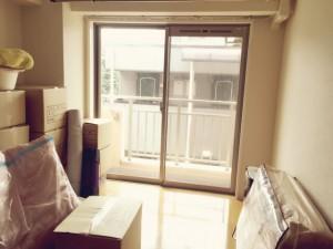 引っ越し前の部屋