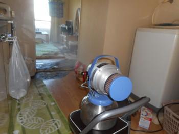特殊清掃で稼働するフォグマスター