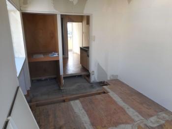 特殊清掃後の部屋の様子